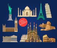 High quality, detailed World landmarks Stock Images