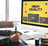 High Quality Display Digital Technology Monitor Concept Royalty Free Stock Photo