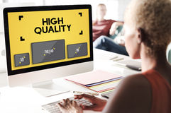 High Quality Display Digital Technology Monitor Concept Stock Photography