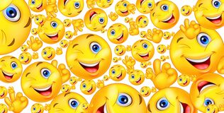 Free High Quality Emojis Background.. Royalty Free Stock Photography - 218653807