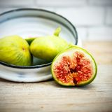 Vintage fig fruit canvas and poster Stock Photo