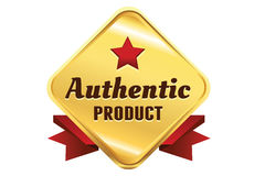 High Quality Golden Badge Royalty Free Stock Photos