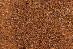 High quality ground arabica coffee abstract texture background Stock Photo