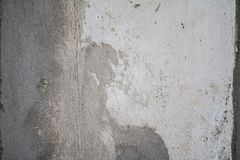 Grunge aged white wall texture stock image