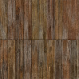 High quality high resolution seamless wood texture. Dark hardwood part of parquet. Wooden striped fiber textured background. Old grunge panel. Close up brown Royalty Free Stock Image