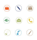Icon Sets professionally designed - part 2 Stock Image