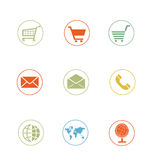 Icon Sets professionally designed - ecommerce - part 3 Stock Image