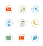 Icon Sets professionally designed - business - part 4 Stock Photos