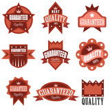 High quality labels Stock Image