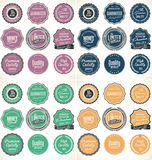 High Quality Labels collection. Illustration royalty free illustration