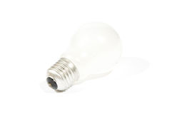 High-quality lightbulb with shadow Royalty Free Stock Photography