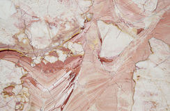 High quality marble. High quality red and White marble Stock Image