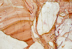 High quality marble. High quality red and yellow marble Stock Image
