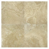 High quality marble tile. High quality beige travertine square four marbles set Royalty Free Stock Photos