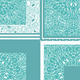 High quality original geometric pattern for fabric, designm text Royalty Free Stock Photos