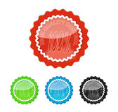 High quality 100 percent. High quality control candy color stock illustration