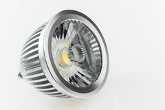 High-quality plastic scattered light on GU10 LED Bulbs Royalty Free Stock Images