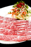 High quality premium beef sliced Royalty Free Stock Photos