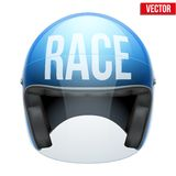 High quality racing motorcycle helmet. Stock Images