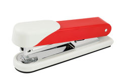 High quality red stapler Royalty Free Stock Photography