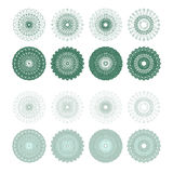 High quality rossete vector elements. Royalty Free Stock Photos