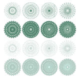 High quality rossete vector elements. Stock Images