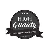 High Quality Round Emblem Logo Royalty Free Stock Photos