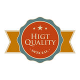 High quality round vintage banner Royalty Free Stock Photos