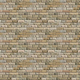 High quality seamless background texture of a brick wall Stock Photography