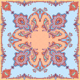 High quality shawl paisley pattern with graphic elements for printing on fabric Stock Photos