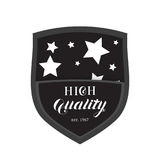 High Quality Shield Emblem Logo Royalty Free Stock Photos