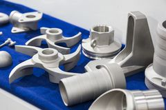 The high quality stainless parts. Selective focus Stock Photos