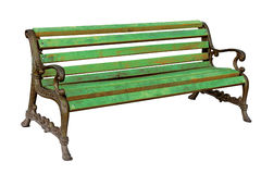 High quality stylish vintage park cast-iron bench Stock Images
