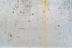 Aged concrete with yellow patterns and cracks - high quality texture / background royalty free stock photo