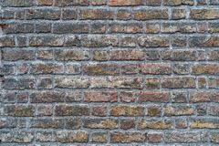 Old grungy rustic brick wall - high quality texture / background royalty free stock photos