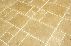 High quality unfilled travertine Stock Images