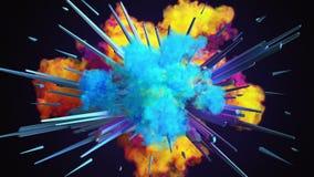 Amazing explosion animation