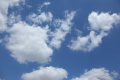 High r sky and  clouds Royalty Free Stock Image