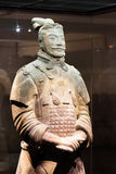High-ranking Officer Of The Terracotta Army, Xi`an, China Royalty Free Stock Photography