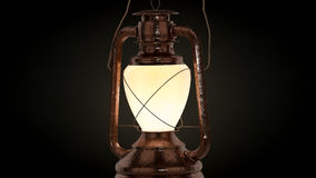 High res 3d rendered petroleum lamp Stock Images