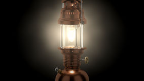 High res 3d rendered petroleum lamp Royalty Free Stock Image