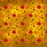 Autumn Leaves Texture Background. High res texture 2000x2000@ 300 DPI.  Suitable as a background for print or web projects, scrapbook papers, etc Royalty Free Stock Photography