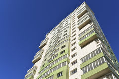 High residential buildings on the background of Royalty Free Stock Photos