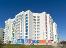 High residential buildings on the background of Stock Image