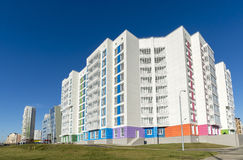High residential buildings on the background of Stock Photography