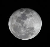 High resolusion full moon close up Royalty Free Stock Photos