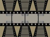 High resolution 3 frame film 35mm. Art high resolution  frame film 35mm Stock Photo