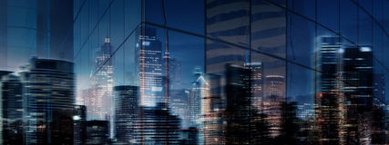High Resolution Abstract Business City Stock Photography