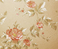 High resolution antique style wallpaper Stock Image