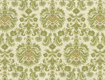 High resolution antique wallpaper with floral pattern Royalty Free Stock Photography